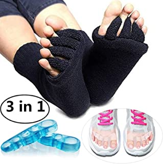 Best toe separator socks Reviews
