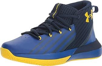 Under Armour Boy's BGS Lockdown 3 Basketball Shoe