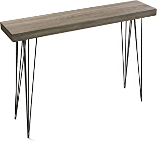 Versa 20361009 Mesa entrada madera color roble Dallas,