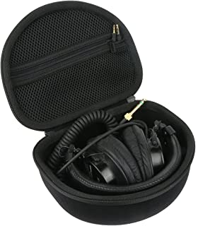 Para Audio-Technica ATH-M50X M40X M50 M40 M30X M30 Auriculares de diadema cerrados EVA Duro Viaje Estuche Bolso Funda by Khanka