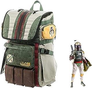 Boba Fett mochila de viaje casual bolsa de escuela, accesorio para cosplay para actividades al aire libre