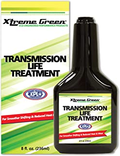 Xtreme Green Transmission Life Treatment - for Smoother Shifting And Reduced Heat, Friction And Wear - Pack of 1 (8 fl. oz. 236ml)