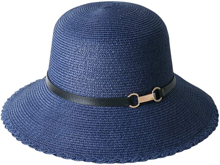 YD Industry No. 1 Hat - Women's Summer Sun Foldable Holi Casual Max 66% OFF Visor Straw