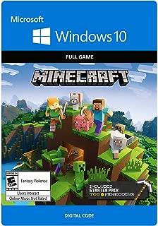Minecraft Windows 10 Starter Collection - Windows 10 [Digital Code]