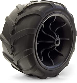 Creative Outdoor Single Replacement Wheel for All-Terrain Kids Wagons | Black/Black