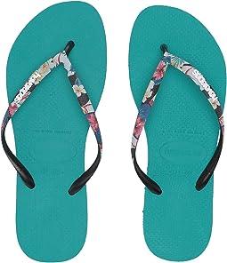 Slim Tropical Straps Sandal