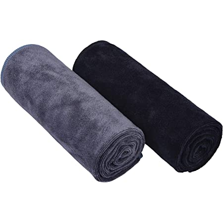 HOPESHINE Microfiber Gym Towels Fast Drying Sports Towel Fitness Workout Sweat Towels for Men /& Women 3-Pack
