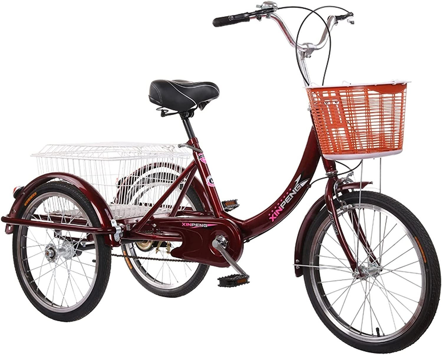 Max 74% OFF ZNND Tricycle for Adults Adult Bikes 3 Wheel free shipping Adul Tricycles