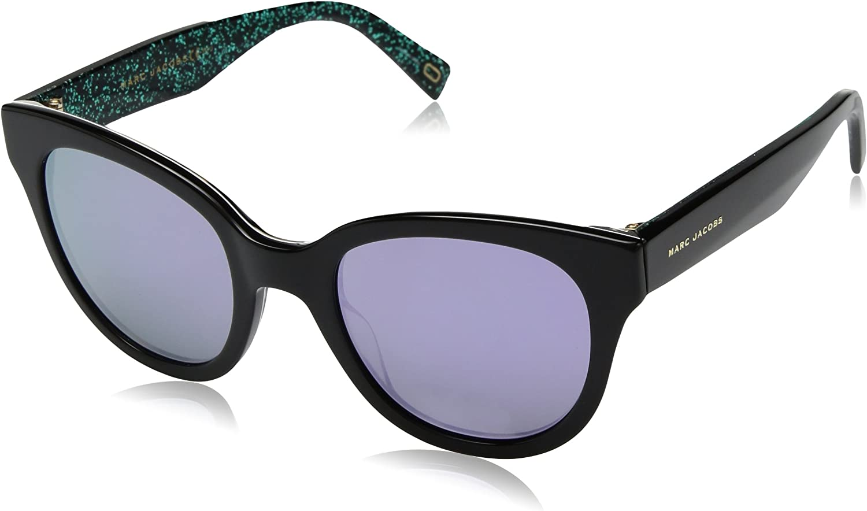 Marc Jacobs Women's Marc231s Cateye Sunglasses, BKBEANIM, 50 mm