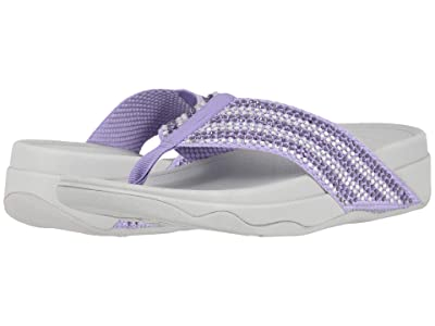 FitFlop Surfa Crystal (Frosted Lavender/Vapour Blue) Women