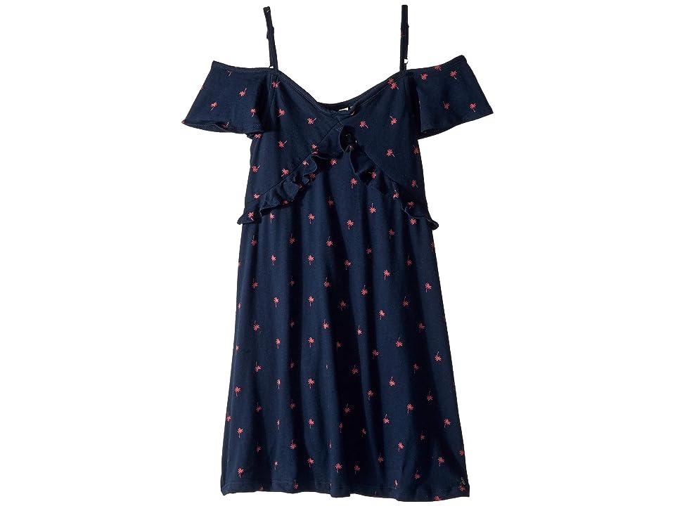 Roxy Kids Bright Forest Dress (Big Kids) (Dress Blues Palmito) Girl