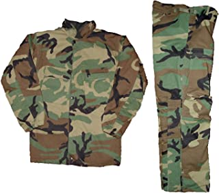 Military Outdoor Clothing Woodland Chemical Suit