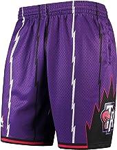 Hardwood Classics faccione Shorts Studenti ad Asciugatura Rapida Pantaloni di addestramento WWWJ Raptors Grande Uomo Alto Uomini Pallacanestro Pantaloncini