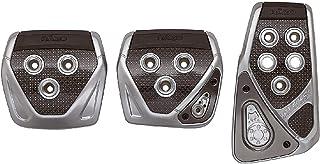 カーメイト 車用 ペダルセット RAZO GT SPEC MT-S スカイライン 他 カーボン シルバー RP104