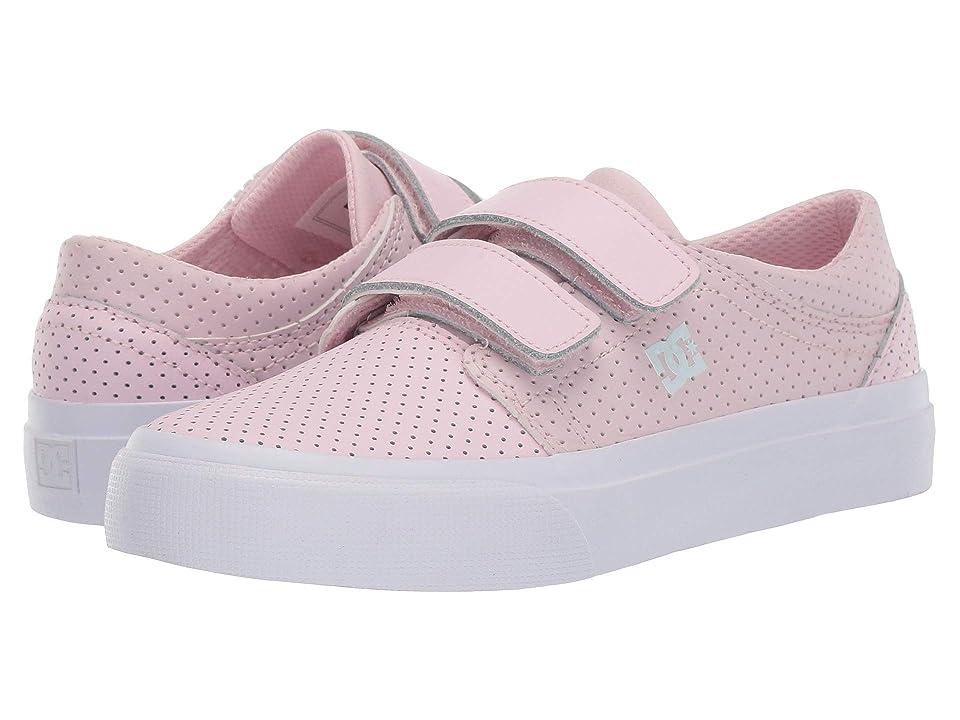 DC Kids Trase V SE (Little Kid/Big Kid) (Pink) Girls Shoes