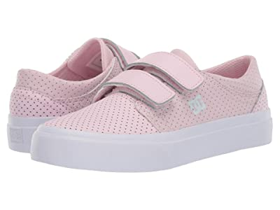 DC Kids Trase V SE (Little Kid/Big Kid) (Pink) Girls Shoes