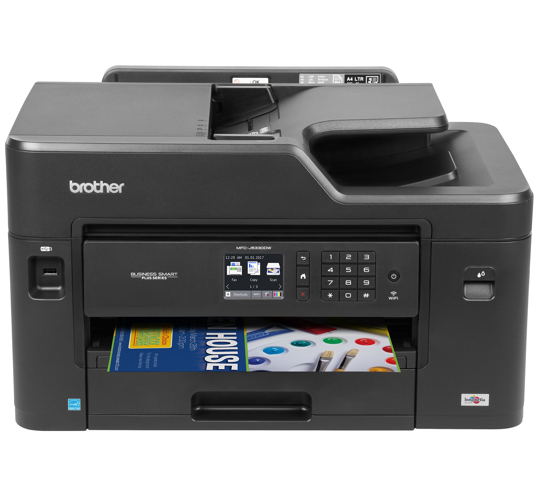 Brother MFC J5330DW Connectivity Automatic Replenishment