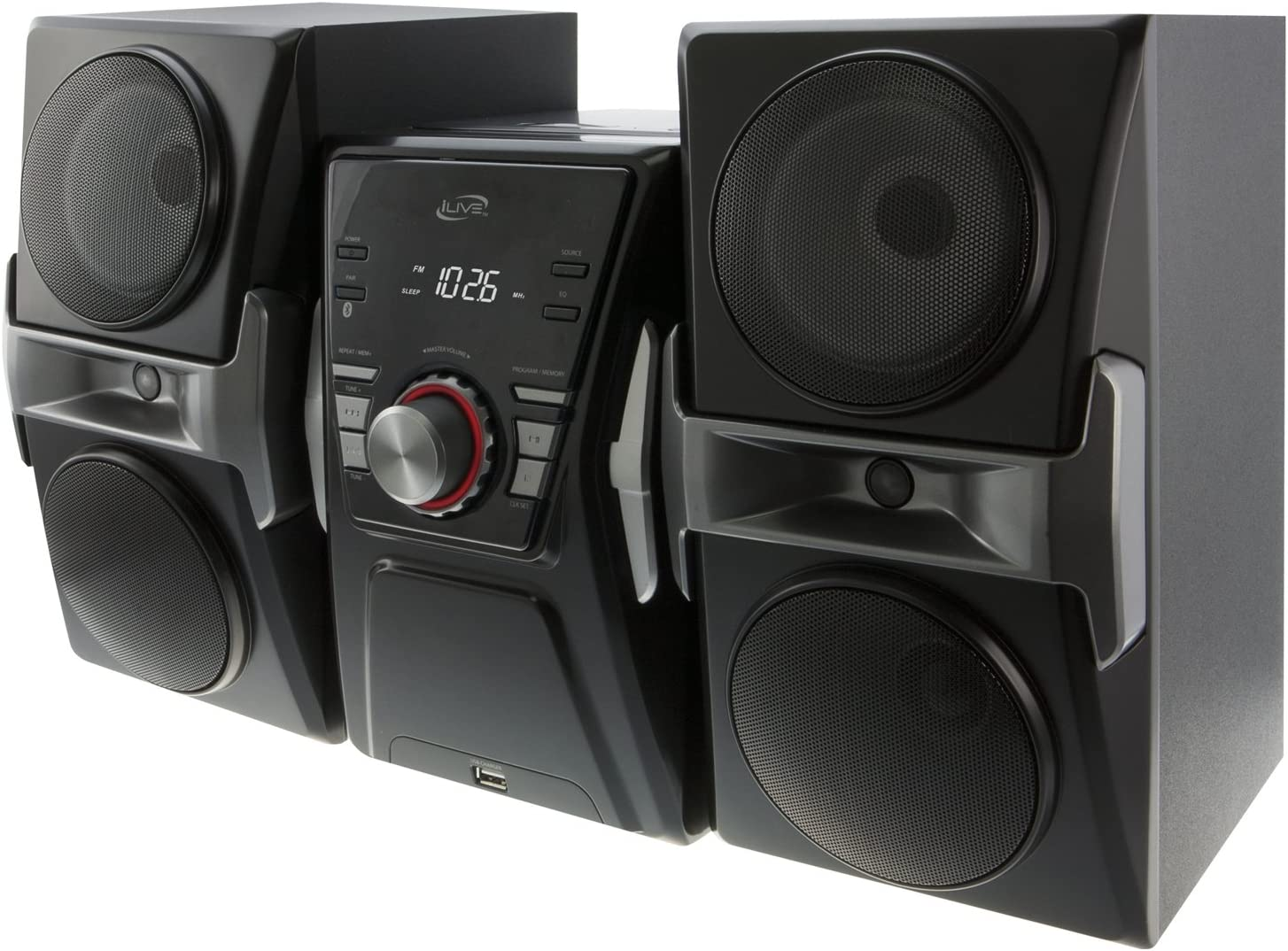 iLive Brand Cheap Sale Venue IHB624B Bluetooth CD and Radio Colo with Music Large discharge sale System Home