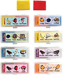 Mash Ups Scented Kneaded Putty DIY New Scent Erasers : 8pcs