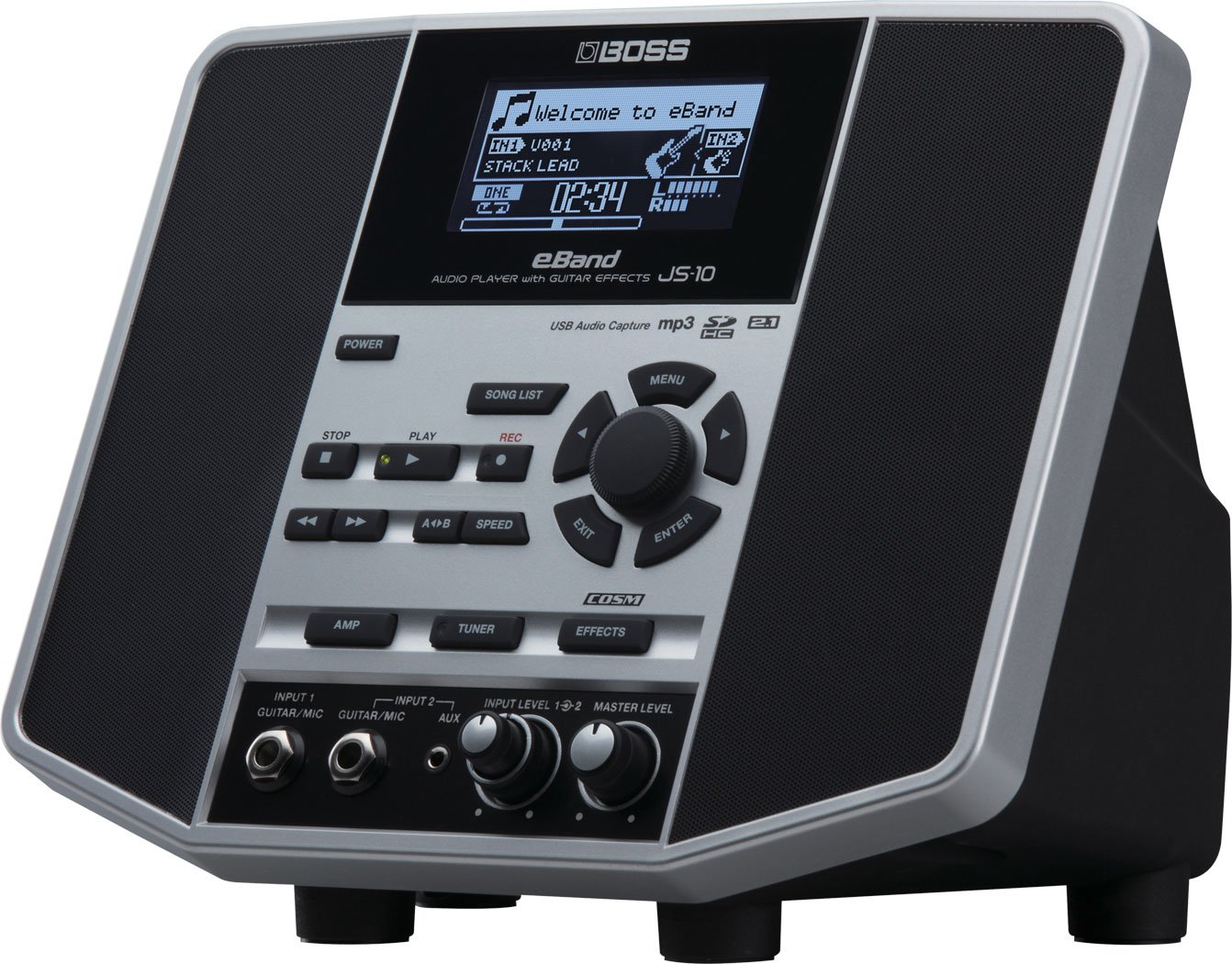 BOSS JS-10 E-Band Audio Player Jam Station with Effects: Amazon.es: Instrumentos musicales