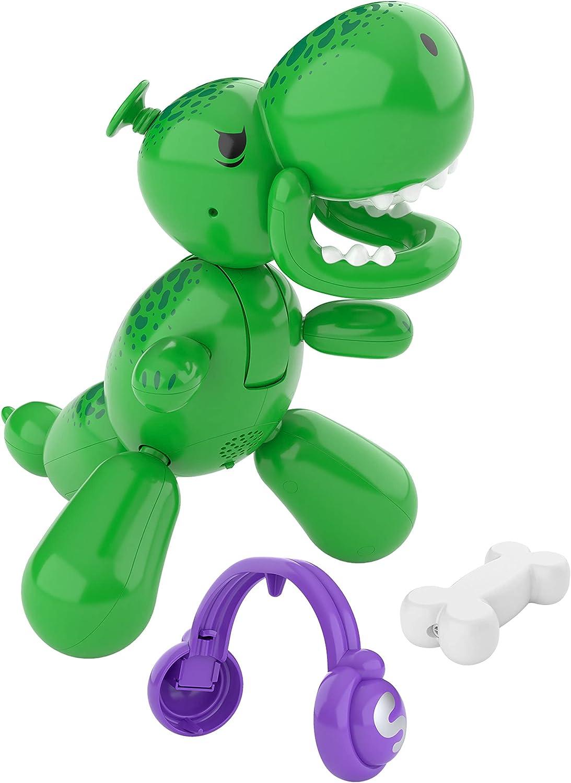Squeakee The Balloon Dino   Interactive Dinosaur Pet Toy That Stomps, Roars...