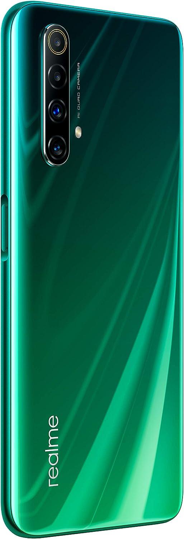 Ice Silver cu/ádruple c/ámara AI de 48MP 128 GB ROM Procesador Snapdragon 765G Platform 6 GB RAM Smartphone de 6.57 Dual SIM realme X50 5G