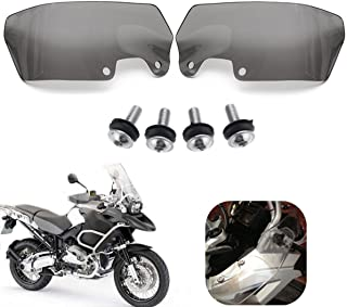 Hitommy Motorcycle Wind Deflectors Scratch Resistant Pmma Set For Bmw R1200Gs 04-12 - Transparent