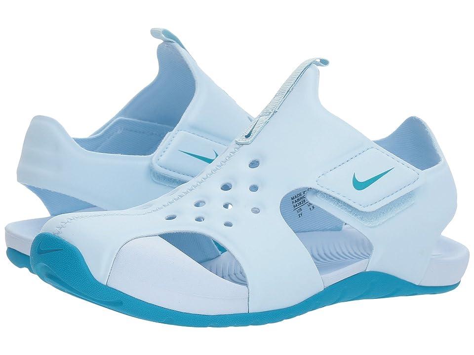Nike Kids Sunray Protect 2 (Little Kid/Big Kid) (Cobalt Tint/Neo Turquoise) Girls Shoes
