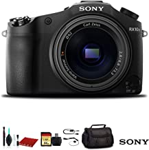 Sony Cyber-Shot DSC-RX10 III Digital Camera (DSCRX10M3/B) with Bag, 64GB Memory Card, Memory Card Reader and More.