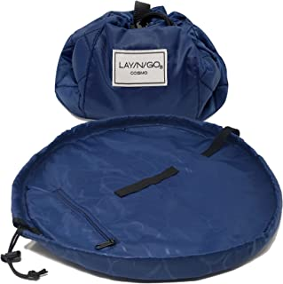 Lay-n-Go Cosmo Cosmetic Bag (20 Inch, Navy)