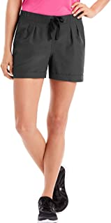 Hanes Women's Sport Performance Pleated Woven Shorts
