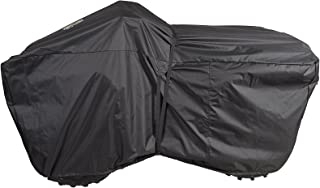 Dowco Guardian 04630 Trailerable Indoor/Outdoor Water Resistant Ratchet Fastening System ATV Cover: Black, XX-Large, Up to 86.75