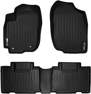 MAXLINER Floor Mats 2 Row Liner Set Black for 2013-2018 Toyota RAV4 (No Electric or Hybrid Models)