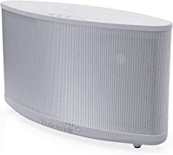 AxiomAir Portable Wireless WiFi & Bluetooth Speaker - Airplay Enabled 100-Watt Audiophile Quality Speaker … (No Battery, White)