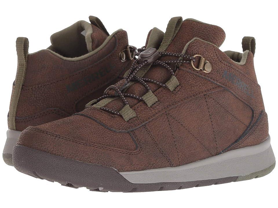 Merrell Kids Burnt Rock (Big Kid) (Brown) Boys Shoes
