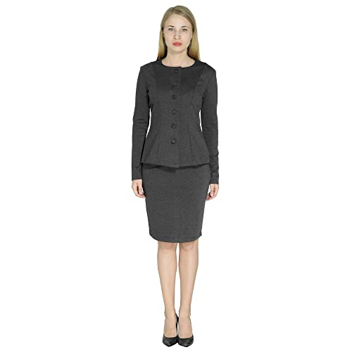 ac074241a Marycrafts Women's Formal Office Business Work Skirt Suit Set