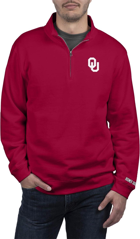 Top of the World Rare Men's Quarter Applique Sweatshirt Team Zip Embr Virginia Beach Mall