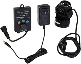 Jebao OW-25 Wavemaker 185-2245 GPH with Controller and Magnet Mount,Black