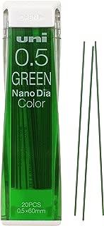 Uni Mechanical Pencil Lead Nanodia Color Green 0.5mm 20Leads