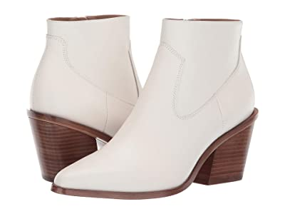 rag & bone Razor Bootie (Antique White) Women