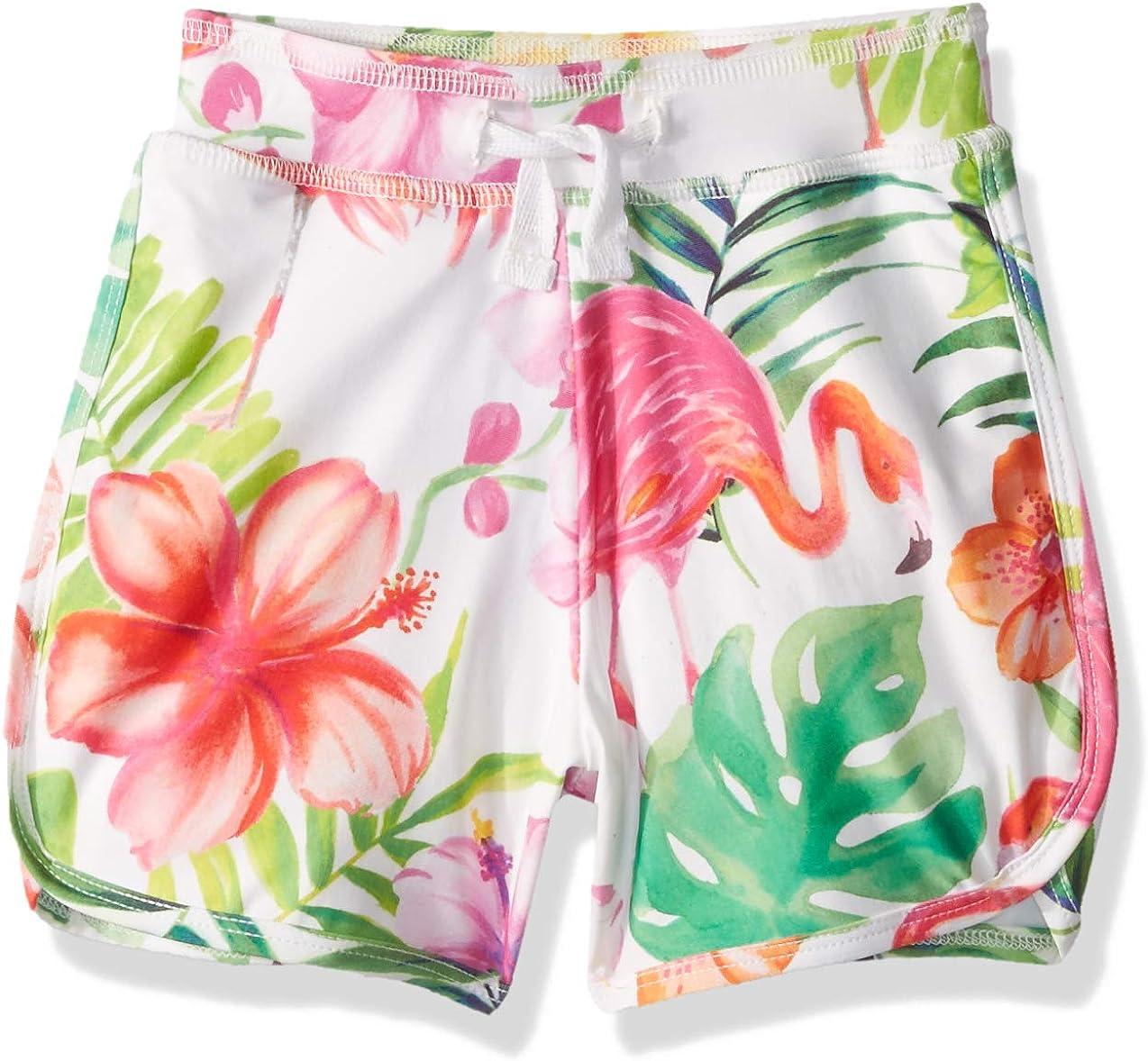 Masala Financial sales sale Kids Brand new Boys' Little Swim Multi Island Flamingo Shorts