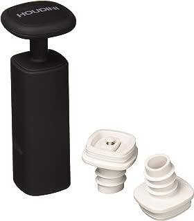 Houdini H3-013001T Wine Vacuum Preserver, 6