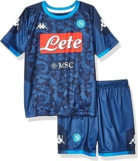 Ssc Napoli Italian Serie A Junior Away Goalkeeper Match Kit, Blue, 8 Years