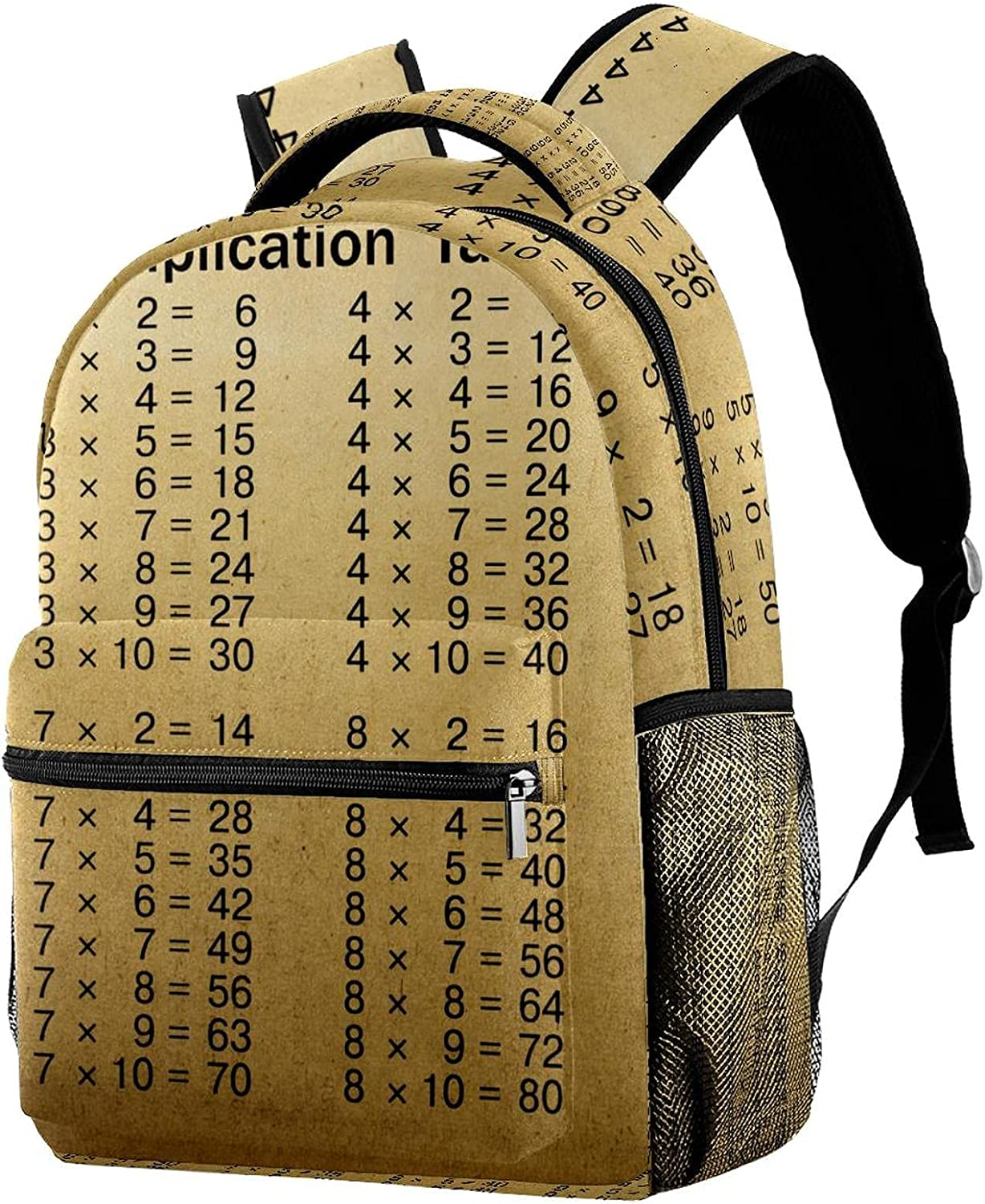Product Fees free!! Multiplication Tables Brown