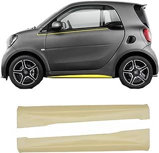 Ala di coda auto Fydun Baule posteriore universale per auto Coda da corsa Spoiler In lega leggera di alluminio per veicoli a due compartimenti Nero