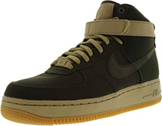 WomenMen New Release Nike Air Force One Upstep White Royal Yellow