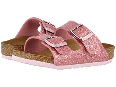 Birkenstock Kids Arizona (Toddler/Little Kid/Big Kid) (Cosmic Sparkle Old Rose) Girls Shoes
