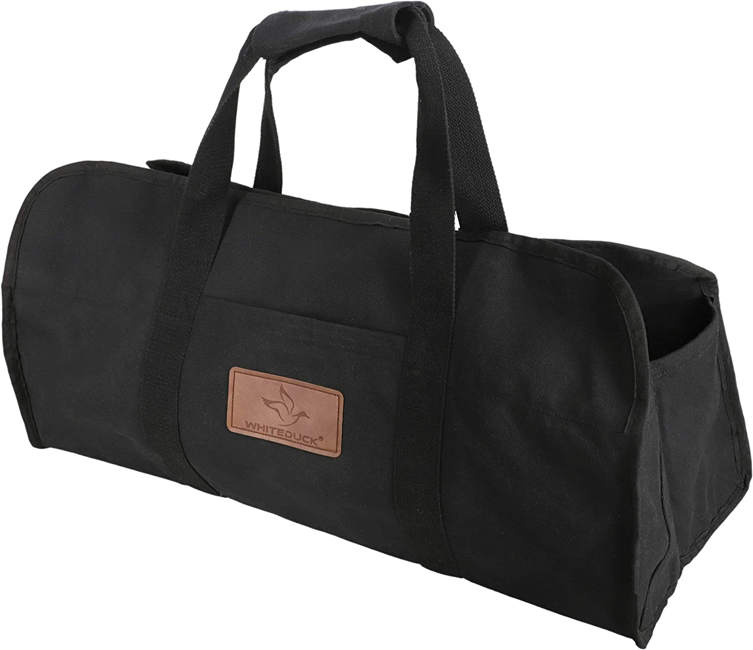 WHITEDUCK TUFF Large Firewood Carrier 21 Heavy Waxed Sale price Ca Duty Oz. specialty shop