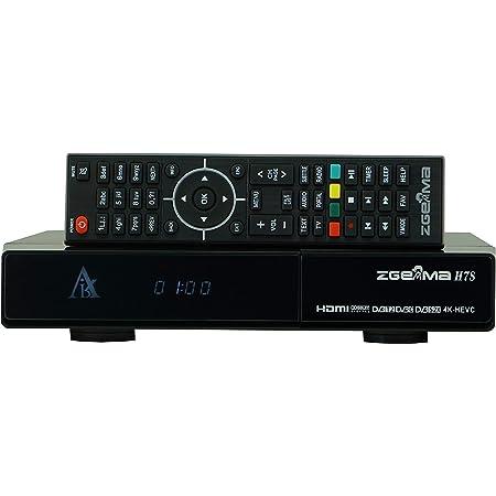 ZGEMMA H7S 新4K衛星放送 テレビ 受信機 Linux 2*DVB-S2X + DVB-T2 / C