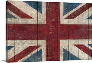 Union Jack Canvas Wall Art Print, 30